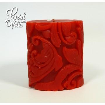 rilievo barocco - rosso